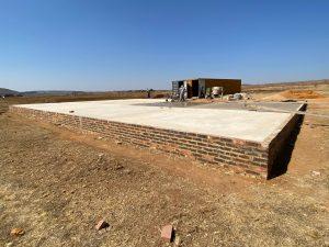 Hall fill foundation